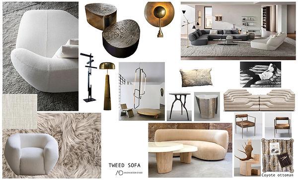 Surf Sofa Living Room