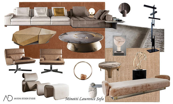 Lawrence Sofa Living Room