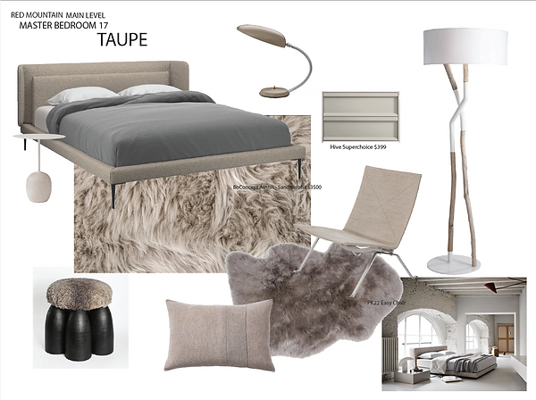 Taupe Bedroom 1
