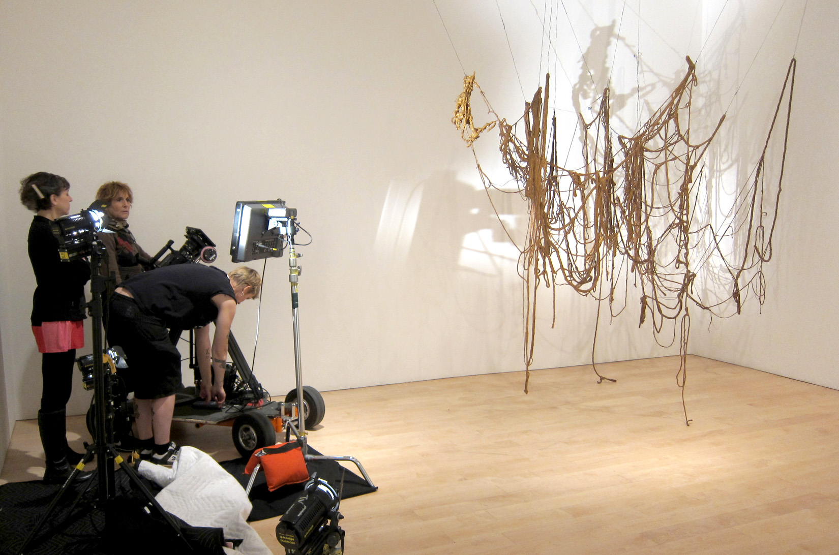 Shooting Rope Piece at the Whitney