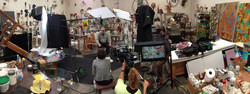 Mike Todd's studio