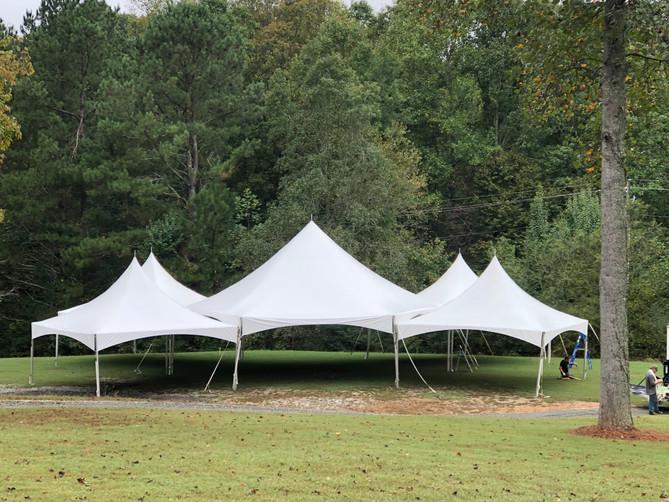Wedding Season- Dawsonville Tent Rentals