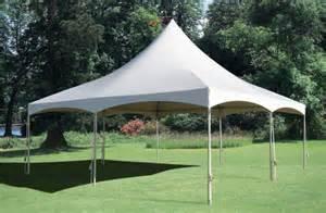 20x20 high peak tent rentals