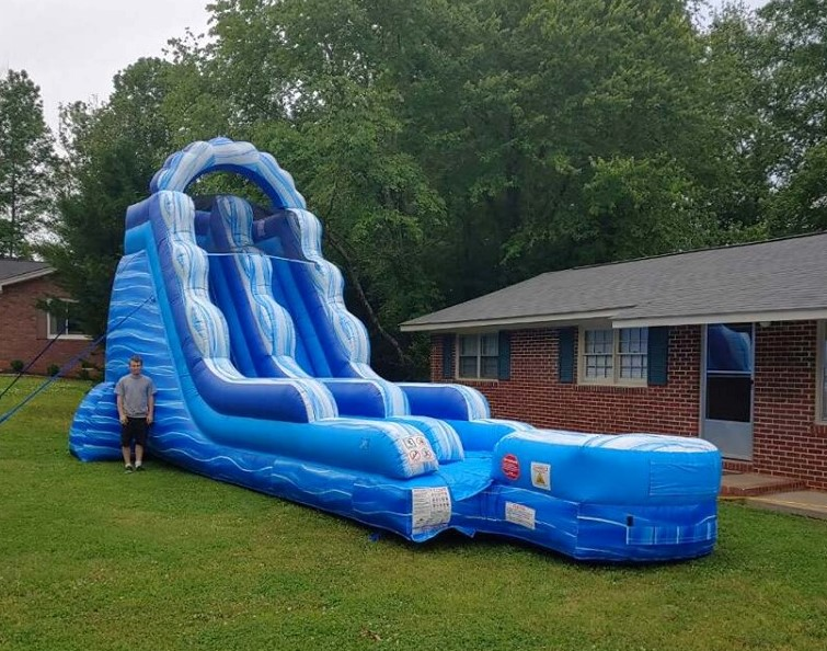 Blue Monster Wet Dry Slide Rental