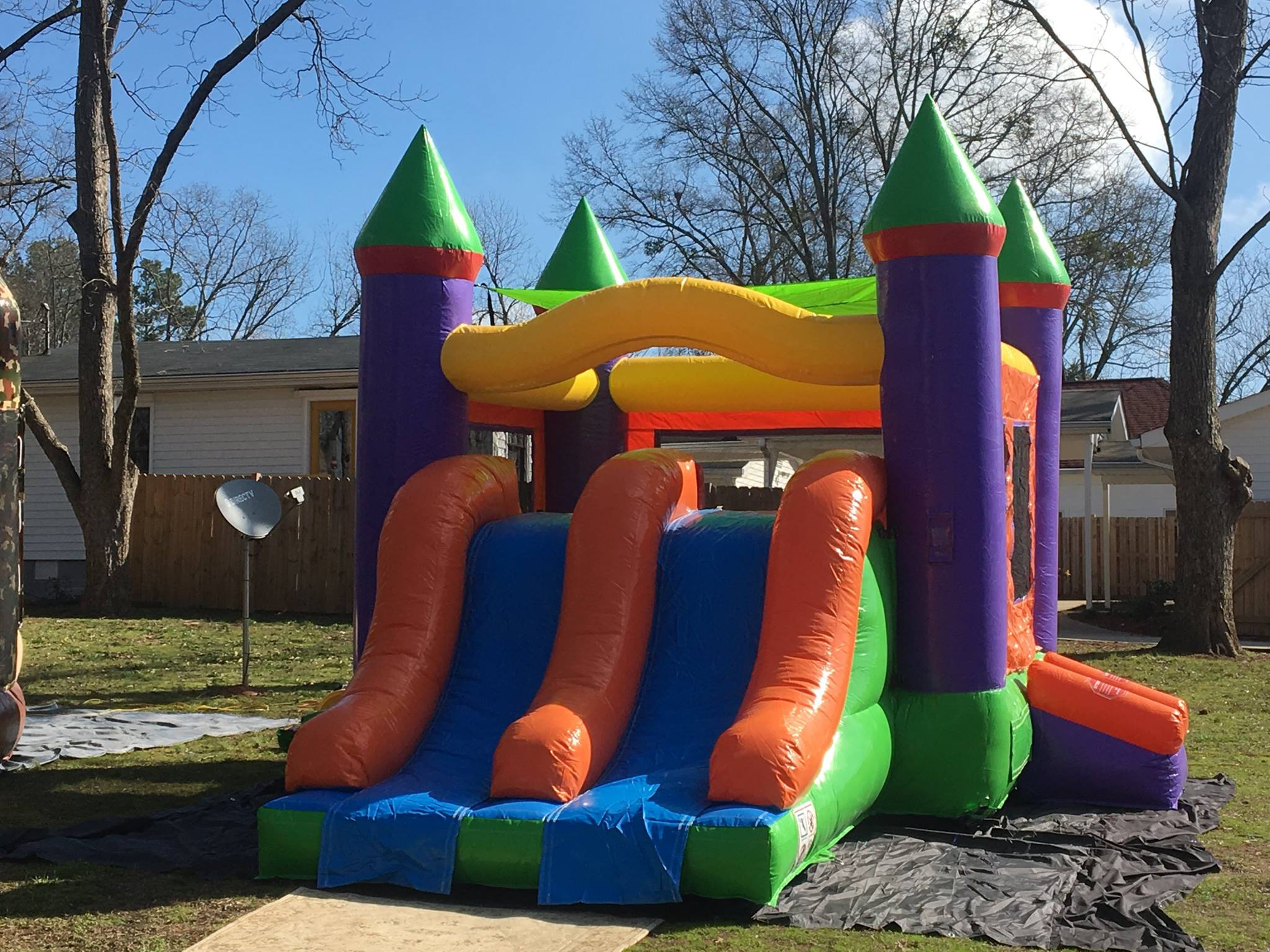 Kids Combo Bounce House Slide rentals