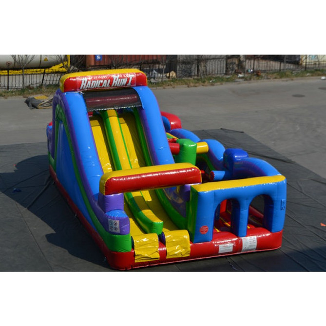 Obstacle Course Bounce House-Perfect for your Spring Events and Festivals!