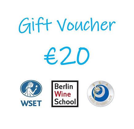 €20 Gift Voucher