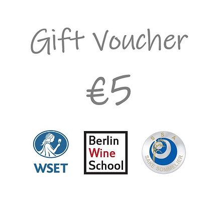 €5 Gift Voucher