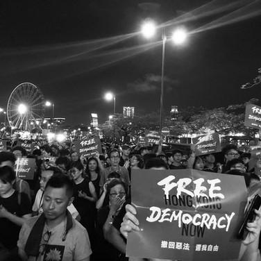 Hong Kong, June, 2019