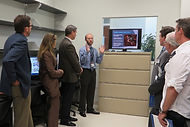 THE FUTURE OF BIOSCIENCE: State leaders visit bioscience labs
