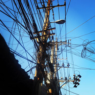 Beijing powerlines