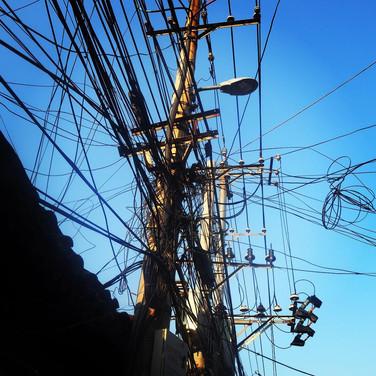 Beijing powerlines