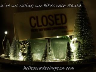 ride like a Santa !