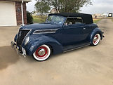 1937 Ford Club Cabriolet owned by Larry