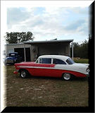 1956 Chevrolet BelAir owned by Larry Dov