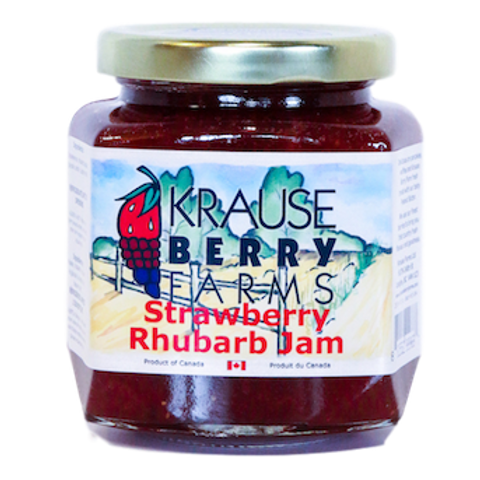 Strawberry/Rhubarb Jam (L)