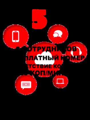 """Облачная АТС """"Компания 5"""""""