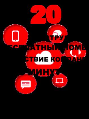 """Облачная АТС """"Компания 20"""""""