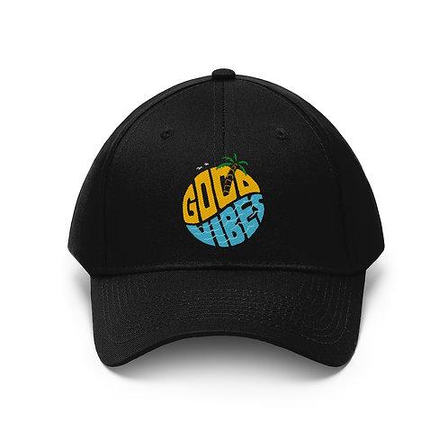 Good Vibes Unisex Twill Hat