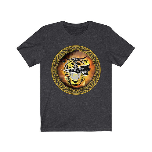 Tiger Eye Unisex Jersey Short Sleeve Tee
