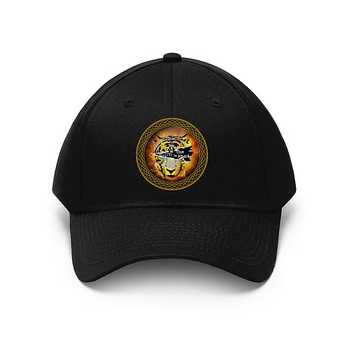 Tiger Eye Unisex Twill Hat
