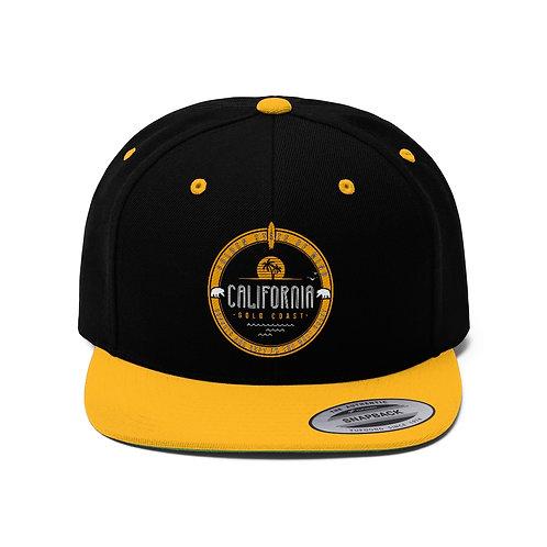 Golden State of Mind Unisex Flat Bill Hat