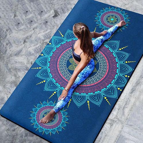 66cm/80cm Natural TPE Slip-Resistant Yoga Mat