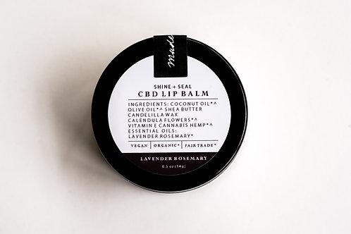 Shine + Seal CBD Lip Balm