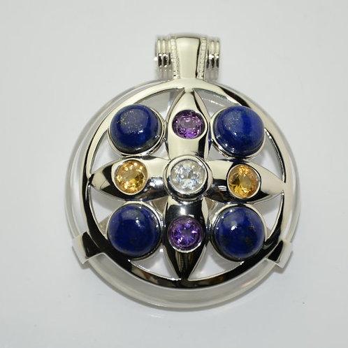 Lapis Lazuli Ailm Amulet