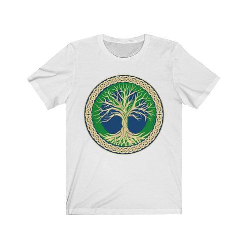 Peace Tree of Life Unisex Jersey Short Sleeve Tee