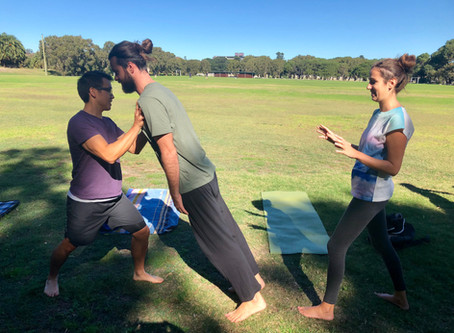 """""""Introduction to Acro Yoga and Tantra"""" Workshop Recap!"""