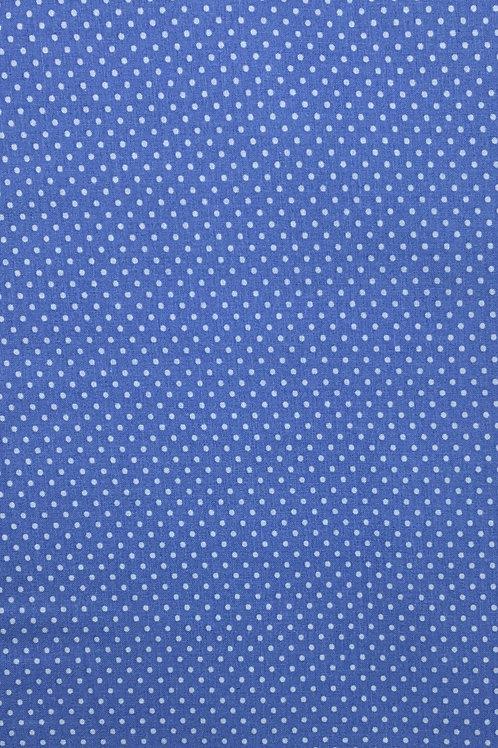 Blue with small pokadots