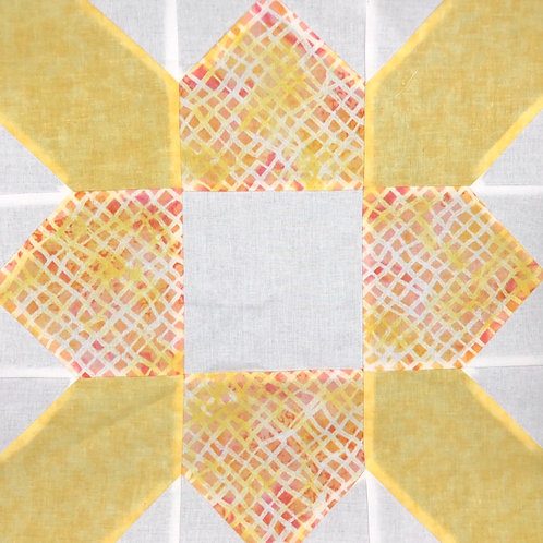 Prairie Flower Quilt Kit (queen)
