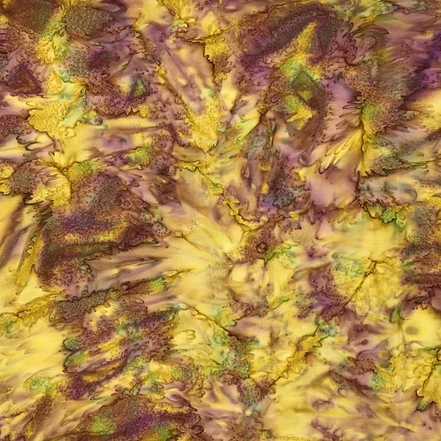 Yellow and Purple Batik