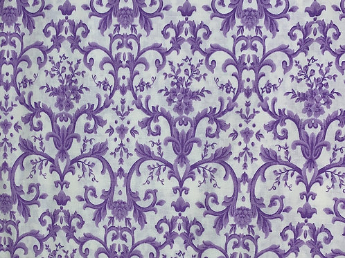 Purple Patterned Fabric