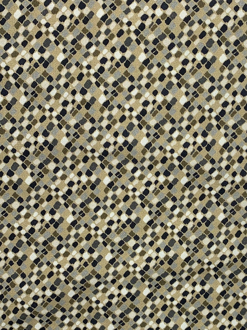 Beautiful Pattern on Olive Green Background
