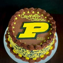 Purdue college commit cake