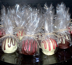 Individually wrapped cake ball truffles