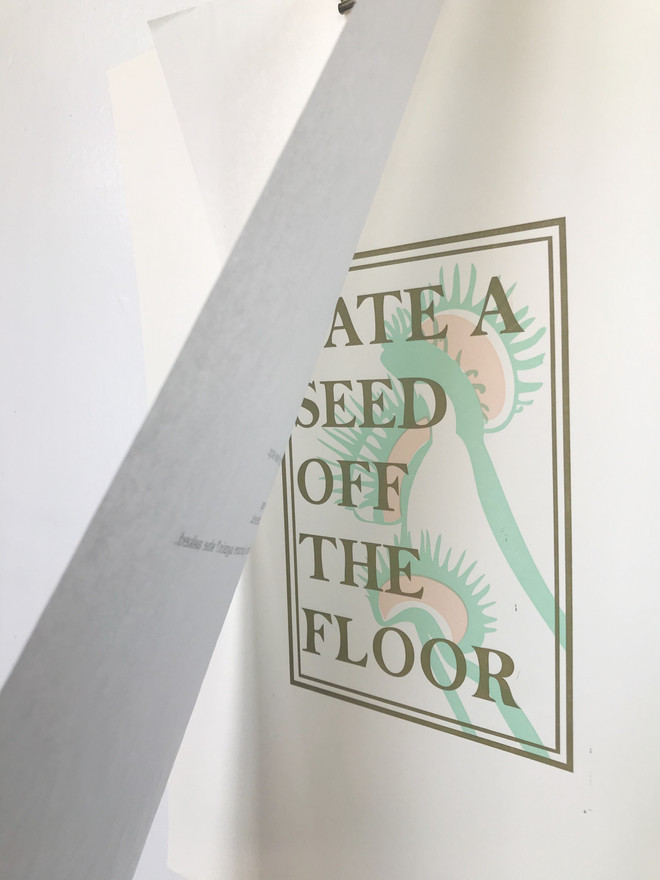 I Ate a Seed Off the Floor