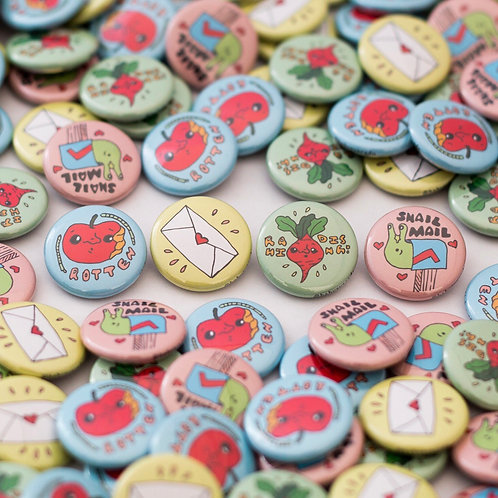 """1"""" Buttons (set of 2)"""