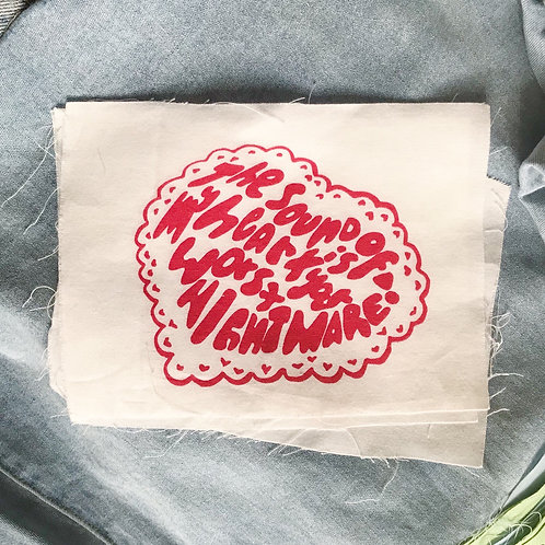 Sound of My Heart Patch