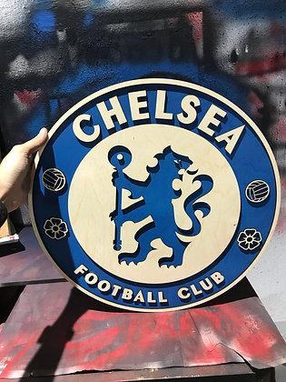 Chelsea - 3D Crest (1.5 & 2 Feet)