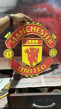 Manchester United 3D Crest - (All Colour) (1.5 & 2 feet)