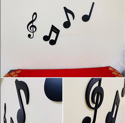 3D Musical Letters