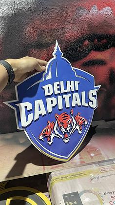Delhi Capitals - 3D Crest