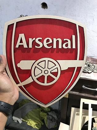 Arsenal - 3D Crest (1/1.5/2 feet)