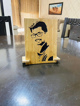 ENGRAVED Wooden Portraits