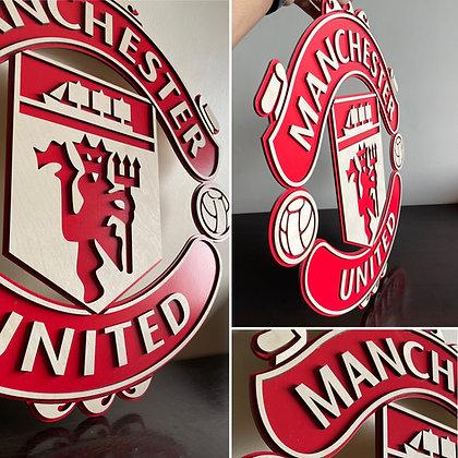 Manchester United 3D Crest