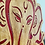 Thumbnail: Engraved Ganpati - 1.5 feet x 1 foot x 12mm Solid Wood