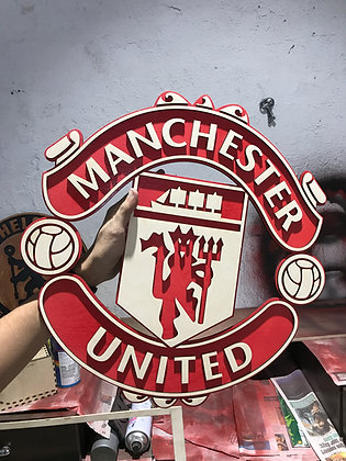 Manchester United - 3D Crest (1/1.5/2 feet)